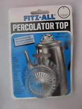 "Tops Fitz-All Replacement Percolator Top  Glass #246 1 1/2"" to 2 1/2""  NEW"