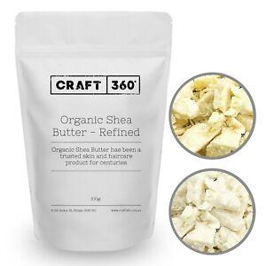 ORGANIC SHEA BUTTER - Refined & Unrefined 100% Pure Premium Quality African