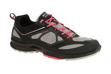 Ecco Women's Biom Ultra Quest GTX Running Walking Shoe Black Pink UK 5 / EUR 38