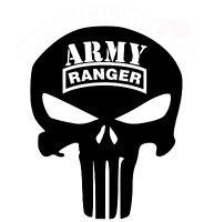 PUNISHER Car Truck Window Vinyl Decal Sticker RANGER SF Army Navy Marines