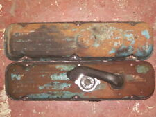ORIGINAL GM ENGINE VALVE COVERS 1960'S  BUICK  OLDSMOBILE