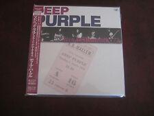 DEEP PURPLE LIVE IN DENMARK 1972 JAPAN OBI Sealed Replica LP in a  2 CD SET