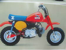 HONDA Z50R 1985 DECALS KIT COMPLETE   REPRO