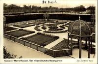 Hannover Herrenhausen AK 1938 Blick in den niederdeutschen Rosengarten Pavillion