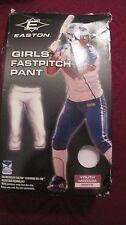 Easton Girls Fast Pitch Baseball SoftballPant Youth extra small White