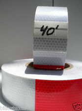 40' CONSPICUITY TRAILER SAFETY REFLECTIVE TAPE ++fast free shipping   DOT C2
