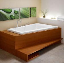 NEPTUNE BORA 66x42 RECTANGLE CORNER BATH TUB SOAKER (NO WHIRLPOOL)