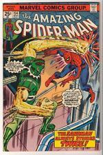 MARVEL Comics VFN- 7.5 SPIDER-MAN Bronze age #154 1974 AMAZING spiderman Sandman