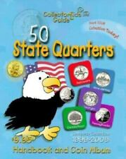 50 State Quarters CollectorKids Guide Handbook and Coin Album-ExLibrary