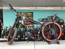 """Ruff Cycles THE RUFFIAN 26"""" Pedelec E-Bike Cruiser 2021 CX 300Wh schwarz/rotwand"""