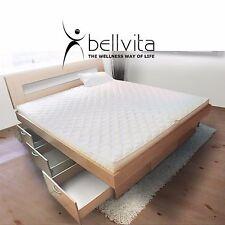 Bellvita Mesamoll Wasserbett dual Schubladensockel Bettumrandung und Kopfteil