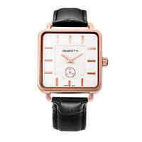 Fashion Elegant Luxury Dress New Womens Analog Quartz Wrist Watch Square Face