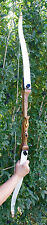"Monarch 30lb 62""RH SCRATCH & DENTS Take Down Recurve Bow white limbs"