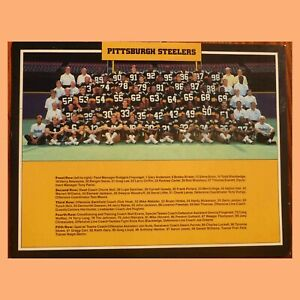 1987  PITTSBURGH  STEELERS  TEAM PICTURE  - 1988