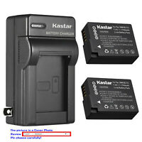 Kastar Battery AC Wall Charger for Panasonic DMW-BLC12 Panasonic Lumix DMC-G85