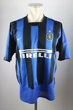 Inter Mailand Trikot L 2003-2004 Nike Pirelli Jersey Maillot Milan Shirt Home