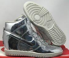 On Clearance Nike Dunk High Medium Grey Liquid Lime White