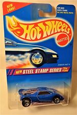 Hot Wheels Steel Stamp Error Mispackage Zender Fact 4 / Speed Blaster