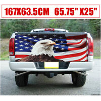 Tailgate Wrap Printed Sticker Graphics Vinyl Us Eagle Totem Flag Style Pattern