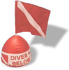 Inflate a Dive Flag