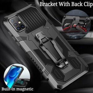 Case Armor Kickstand With Clip Cover For Motorola Moto G9 Play G8 Power Lite E6S