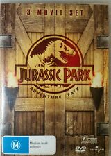 JURASSIC PARK Adventure Pack 3 Movies JP1, JP2: The Lost World, JP3 Region 2&4