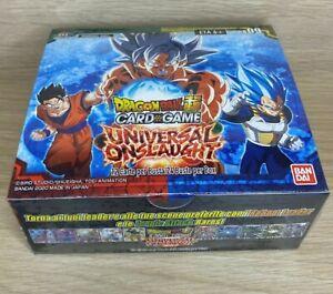Dragon Ball Super CCG Universal Onslaught Booster Box Italian Sealed