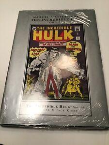 Marvel Masterworks: The Incredible Hulk Volume 1 [New Printing 2015 - sealed]