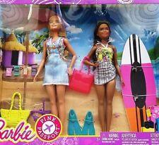 Barbie Pink Passport Barbie & Nikki Camping Adventure Dolls Gift Set NEW IN BOX