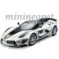 BBURAGO 18-16012 FERRARI FXX K EVO #70 1/18 DIECAST MODEL CAR WHITE