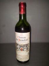 vino chateau de beaufort 1973