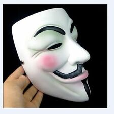 Neuf V POUR VENDETTA résine Masque Occupy Wall Street Guy Fawkes Cosplay Prop