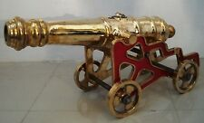 VINTAGE style CANNON with STAND – BRASS – Heavy & Large - Best Collection