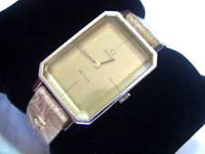VINTAGE 1960'S OMEGA DE VILLE RECTANGULAR MANUAL WATCH                *6909