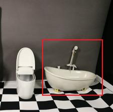 Fashion 1:6 Scale Dolls Figures furniture bowl Bathtub Bath crock