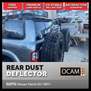 Rear Dust Deflector For Nissan Patrol GU Y61 Wagon 1997+