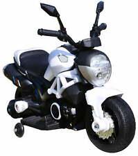 Moto Motocicletta Elettrica per Bambini POCKET Racing 6V 3 Ruote Rosso Tribike