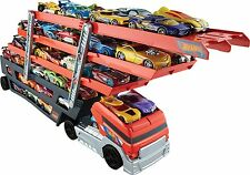 Hot Wheels Semi Truck Car Toy Carrier Mega Track Lot 50 Hot Vehicles Toys Game