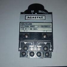 AGASTAT 240V 60HZ 5-50 SEC. TIMING RELAY 7012BD