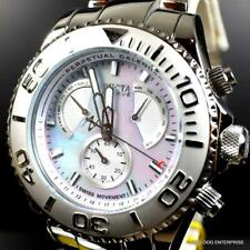 Invicta Reserve Pro Diver Swiss Mvt Platinum MOP Stainless Steel 47mm New Watch