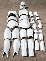STAR WARS 1:1 CLONE TROOPER LIFE SIZE MOVIE COSTUME ARMOR PROP HELMET ST24SET