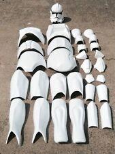STAR WARS 1:1 CLONE TROOPER LIFE SIZE MOVIE COSTUME ARMOR PROP HELMET SET