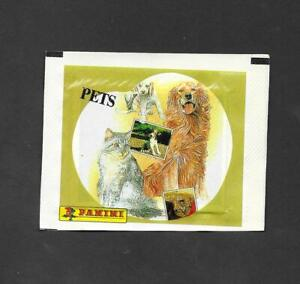 Panini Domestic Pets Unopened Packet wrapper -  Pets variant