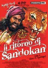 IL RITORNO DI SANDOKAN  4 DVD  COFANETTO  AZIONE