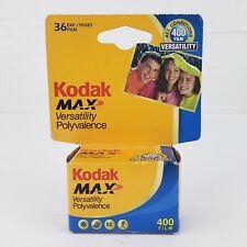Kodak Max Versatility Polyvalence 400 (ISO) 135-36 Color Print 35mm