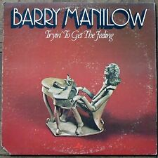 Barry Manilow ‎Vinyl LP - Tryin' To Get The Feeling / Arista ‎– AL 4060