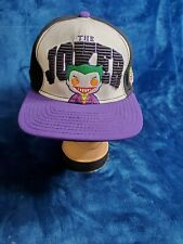 Vintage DC Comics The Joker Snapback Adjustable Hat