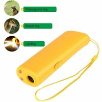 Anti Barking Dog Stop Training 3 in 1 LED Ultrasonic Device Repellent