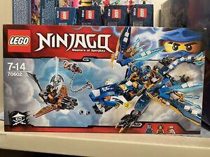 LEGO NINJAGO SET 70602 JAY'S ELEMENTAL DRAGON - Brand New In Seal Box