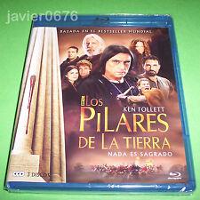 LOS PILARES DE LA TIERRA SERIE TV BLU-RAY NUEVO Y PRECINTADO